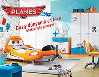 Planes : Dusty Children Room