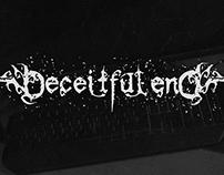 DECEITFUL END Logotype Design
