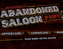 Abandoned Saloon Font