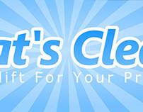 That's Clean! Logo