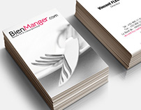 Business cards Bienmanger.com