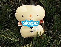 Skype Xmas Mojis