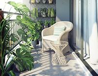 Balcony Aparment