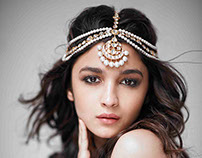 Alia Bhatt for Verve's August 2014 India issue