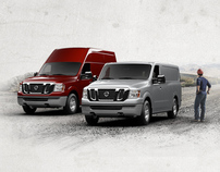 Nissan Commercial Vehicles Site