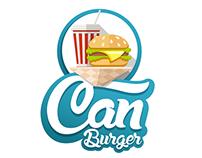 CAN BURGER | LOGO
