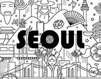 Seoul illust