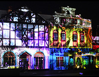 New REOMA WORLD Projection Mapping Show