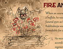 Fire and Blood (Amar Chitra Katha)