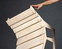 Nomad Plywood Armchair, designed by Selami Yılmaz