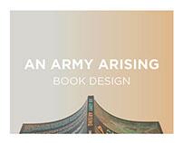 An Army Arising     Book Design
