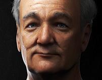 Bill Murray - 3D Portrait