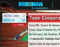 Bresnan Communications NFL® Mini-Site