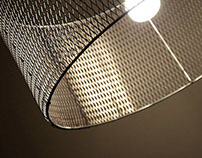 Mesh Lamp, designed by Selami Yılmaz