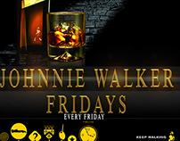 Johnnie Walker Fridays (liquid silk)