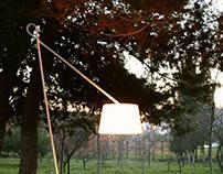 Loop Floor Lamp, designed by Selami Yılmaz