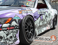 Japanese Performance Magazine Drift Car