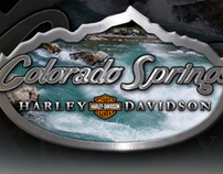 Colorado Springs Harley Davidson Direct Mailer