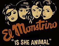 El Monstrino album characters