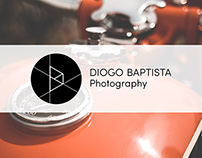New logo for Diogo Baptista Photography