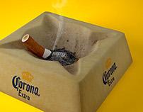 Corona Ash Tray render