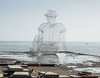 PENSIERI (thinkings) @oltre il muro 2014 - Sapri,Italy