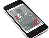 Vauxhall #StandTogether web-app