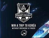 Win a Trip to Korea League of Legends