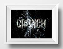 Onomatopoeia Typography  //CRUNCH