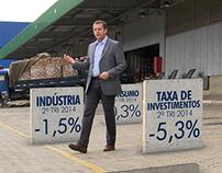 PIB - Jornal Nacional / 3d Tracking + Roto
