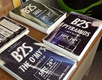 B2S Posters - Pyyramids, Jaill, The O'My's