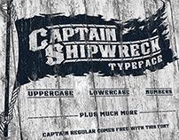 Captain Shipwreck Typeface