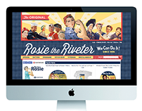 Rosie the Riveter Website