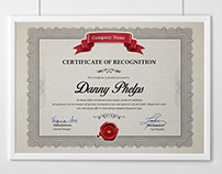 Multipurpose Certificates A4 and US Letter Size