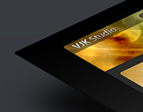 VJK Studio Web Page Design