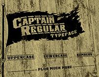 Captain Regular Typeface