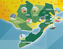 Mapa Zona Sul