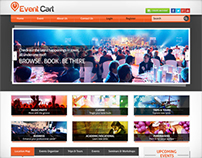 Event Cart Web Design