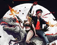Kung Fury - fan art poster