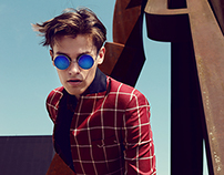 Editorial for The Fashionisto: Squares and Lines