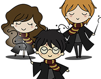 Harry Potter cute vectors