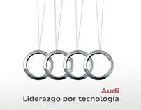 Movimiento. Banner para Audi de México.
