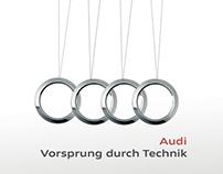 Motion. Banner para Audi de México. (Versión inglés).