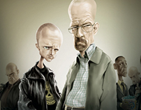 Breaking Bad - Fanart