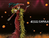 Cuarto Festival de la catrina Capula