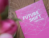 FutureShift Festival — Branding & Print Design