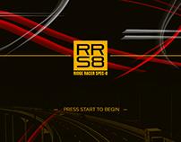 Ridge Racer Spec-8 Mock UI (Personal Work) (WIP)