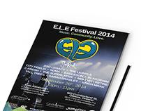 E.L.E Fest 2014 Branding and Social Media Campaign