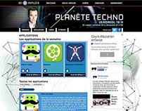 Microsite / Planète Techno