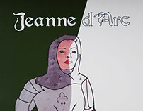 Jeanne d´ Arc Color Book